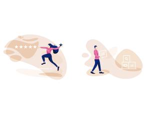 一流设计素材网下午茶:漂亮的互联网概念创意矢量插画素材下载[Sketch,Ai,XD]插图6