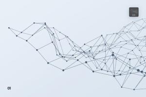 带连接线粒子抽象图形PS笔刷 Particles with Connected Lines Photoshop Brushes插图2