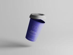 7个咖啡纸杯定制外观设计效果图样机模板 7 Coffee Cup Mockups插图4