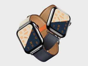 苹果第四代智能手表超级样机套装 Apple Watch 4 Mockups插图1
