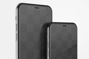iPhone X手机屏幕UI界面设计局部效果图样机05 iPhone X Mockup 05插图2