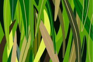 草坪草地颜色Procreate应用调色板PS图案 Procreate palette. Grass插图3