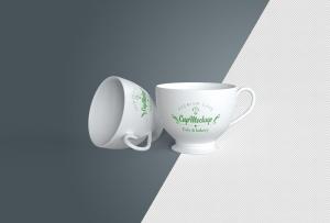 陶瓷茶杯咖啡杯外观设计样机模板v2 Cup Mockup 2.0插图13