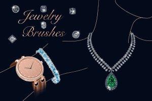 52个珠宝PS动态画笔 Jewelry Dynamic Brushes插图(2)
