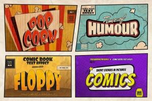 漫威&DC欧美复古漫画插画设计工具包插图(5)