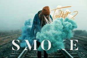 烟雾萦绕视觉特效PS素材大礼包[3.03GB] Smoke Toolkit 2插图14