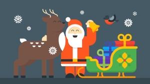 圣诞节&新年庆祝主题矢量插画素材 Christmas & New Year Illustrations插图3