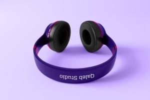 高品质头戴运动音乐耳机样机模板 Headphones Mockup插图5