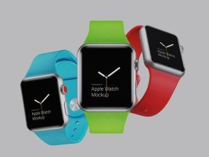 超级主流桌面&移动设备样机系列:Apple Watch 智能手表样机 [兼容PS,Sketch;共2.92GB]插图4