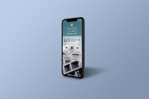 多角度的高品质iPhone X样机VI展示模型mockups插图4