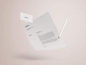 高端品牌VI设计办公用品预览样机PSD模板 Full Branding & Identity Mockup PSD插图7