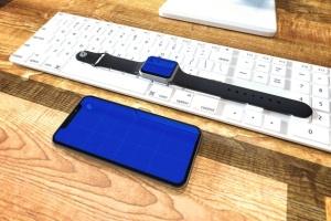 Apple智能手表&iPhone Xs手机样机模板 Apple Watch & iPhone XS插图12