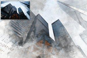 极具创造性的建筑素描PS图层样式下载[psd,jpg]插图6