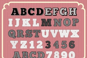 雕刻效果AI文本样式 Engraved Vector Text Styles插图3