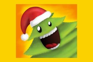 可爱设计风格圣诞树设计PSD分层模板 Christmas Tree插图3