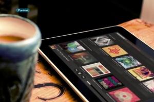 平板APP应用界面设计演示样机模板 Black iPad Tablet App UI Mock-Up插图11