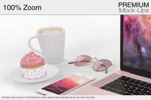 苹果MacBook Pro笔记本电脑样机展示模型mockups插图5