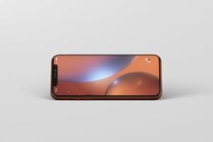 高品质iPhone XR智能设备样机 Phone XR Mockup插图13