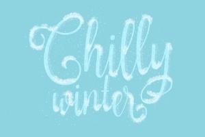 冬天雪景数码绘画AI画笔笔刷 Snow and Winter Brushes for Adobe Illustrator插图5