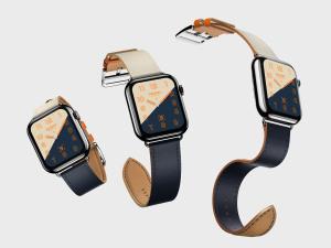苹果第四代智能手表超级样机套装 Apple Watch 4 Mockups插图13