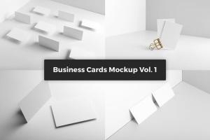 豪华尊贵VIP名片样机套装Vol.1 Business Cards Mockup Vol. 1插图7