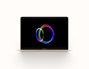 MacBook 2019版本Web网站设计案例展示样机 Macbook Air 2019 Mockup插图5