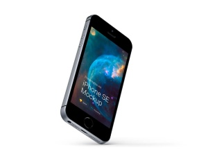 超级主流桌面&移动设备样机系列:iPhone SE 智能手机样机 [兼容PS,Sketch;共3.13GB]插图1