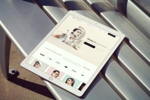 手持iPad Pro设备样机模板v8 iPad Pro Mockups v8插图7