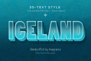 创意3D文本图层样式 Amazing 3D Text Styles插图4