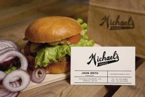 汉堡咖啡品牌样机模板 Burger Cafe Mockup插图8