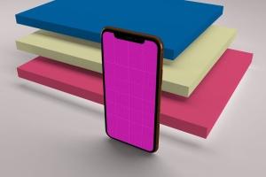 iPhone XS智能手机UI设计预览样机V2 iPhone XS V.2插图13