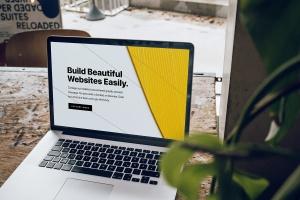 响应式网站设计效果图MacBook Pro电脑样机 Macbook Pro Responsive Mockup插图5