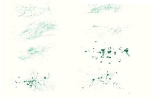 94种水彩艺术图案AI笔刷 Watercolor Vector Art Brushes插图8