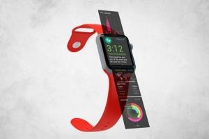 Apple智能手表APP设计展示设备样机V.3 Apple Watch Mockup V.3插图6