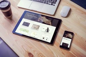 简约风办公桌场景iPad Pro平板电脑样机v2 IPad Pro Mockups V2插图1