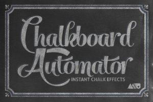 黑板画粉笔笔画文本样式 Chalkboard Automator – Chalk Effects插图1