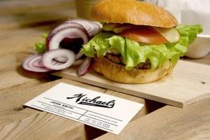 汉堡咖啡品牌样机模板 Burger Cafe Mockup插图2