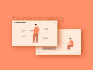 一流设计素材网下午茶:自由职业者插图集[AI]插图6