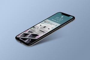 多角度的高品质iPhone X样机VI展示模型mockups插图6