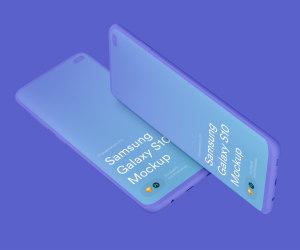 三星智能手机S10超级样机套装 Samsung Galaxy S10 Mockups插图19