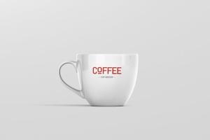 逼真咖啡杯马克杯样机模板 Coffee Cup Mockup插图4