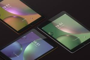 iPad平板电脑屏幕设备样机 Tablet Screen Mockup插图14