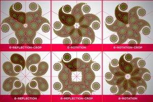 曼陀罗装饰元素AI图层模板 Ai Mandala Ornament Templates插图5