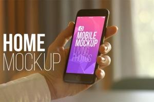 实景iPhone展示样机模板合集 Mobile Mockup Living Photos插图5