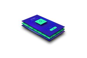 APP应用UI界面设计预览图样机模板01 UI Design – Mobile Display Mockup 01插图1