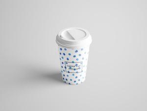 7个咖啡纸杯设计图PSD样机模板 7 PSD Coffee Cup Mockups插图1