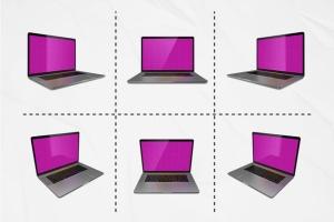 MacBook Pro笔记本样机模板套装 Macbook Pro kit插图3