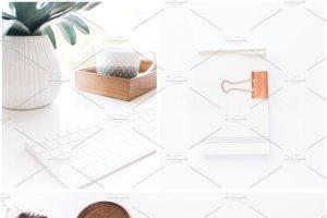 办公场景博客社交媒体贴图样机 NEW   Minimalist Stock Photo Bundle插图20