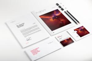 企业品牌VI设计办公用品等距样机01 Stationery Mockup 01插图1