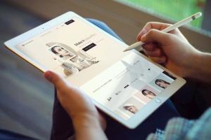 平板电脑iPad Pro样机v4 iPad Pro Mockups v4插图3